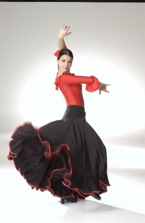 Испанские платья танцев