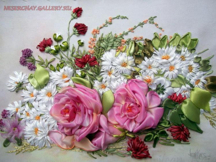 Ирина кириленко вышивка лентами 95