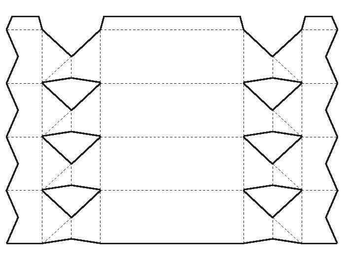 Коробочки схемы для конфет