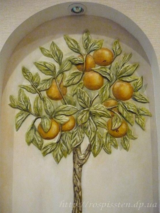 Как сделать роспись на дереве