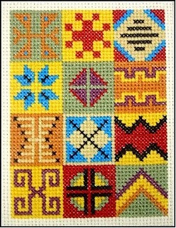 Грузия вышивка кресты
