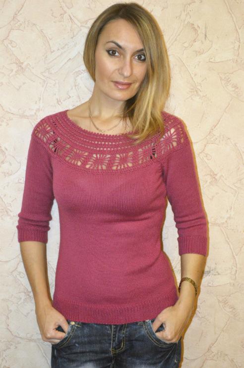 Блузка С Круглой Кокеткой В Екатеринбурге