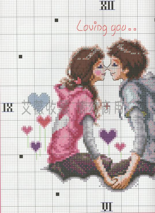 Вышивка романтика схема 80