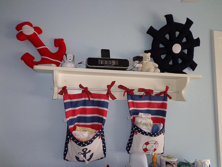 Аксессуары в морском стиле для детской