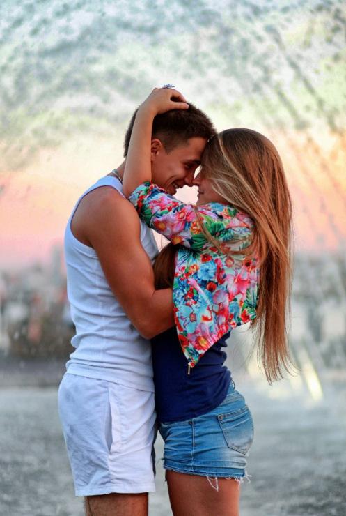 Красивые влюбленные пары на аву