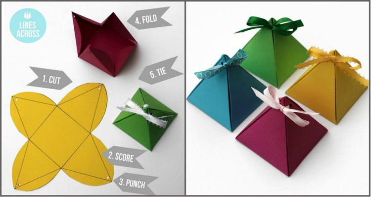 Упаковка для маленьких подарков