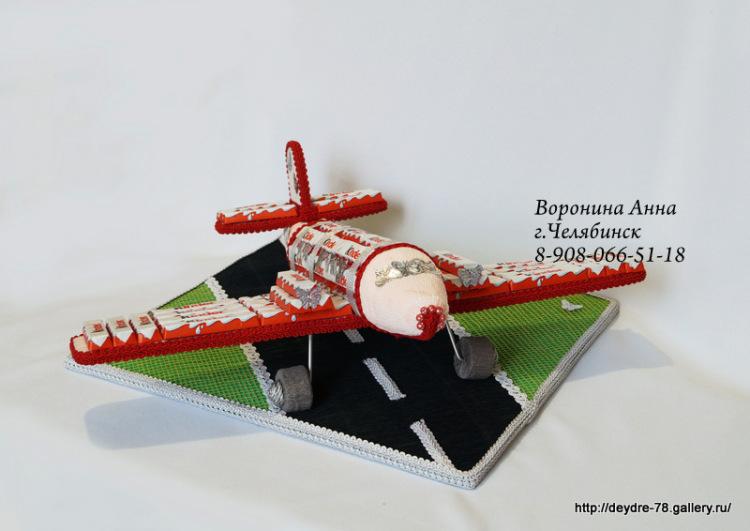 Вертолет из конфет своими руками пошаговое фото для начинающих