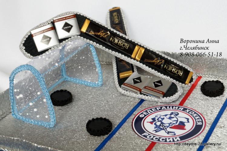 Сладкий подарок хоккеисту 14