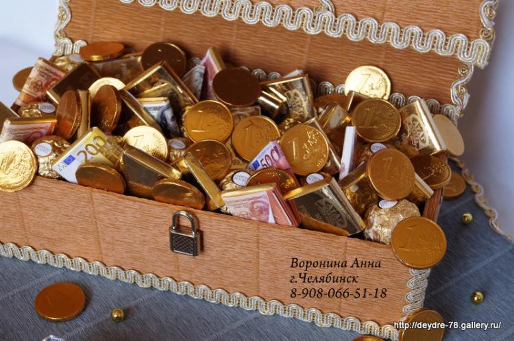 170Подарок с конфетами своими руками для мужчин