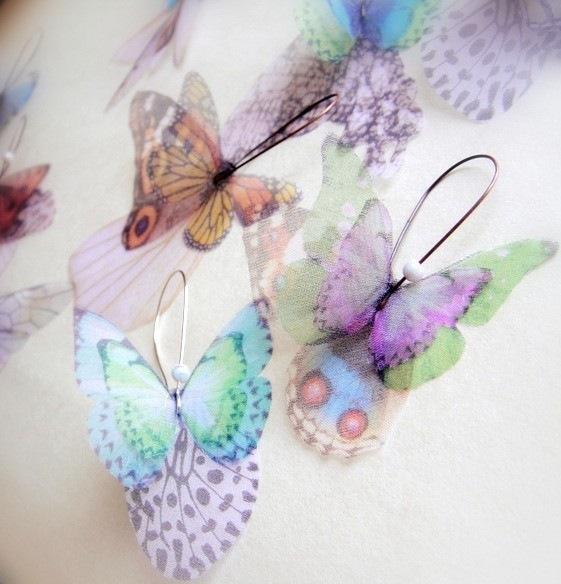 Gallery.ru / Фото #12 - Потрясающие украшения из бабочек от Derya Aksoy - Lusi1948