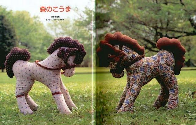 Игрушки лошадь своими руками