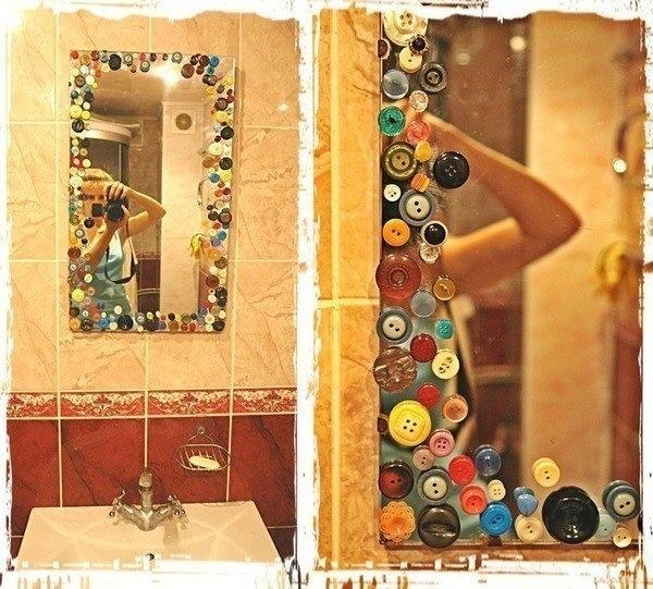 Декор на зеркале фото