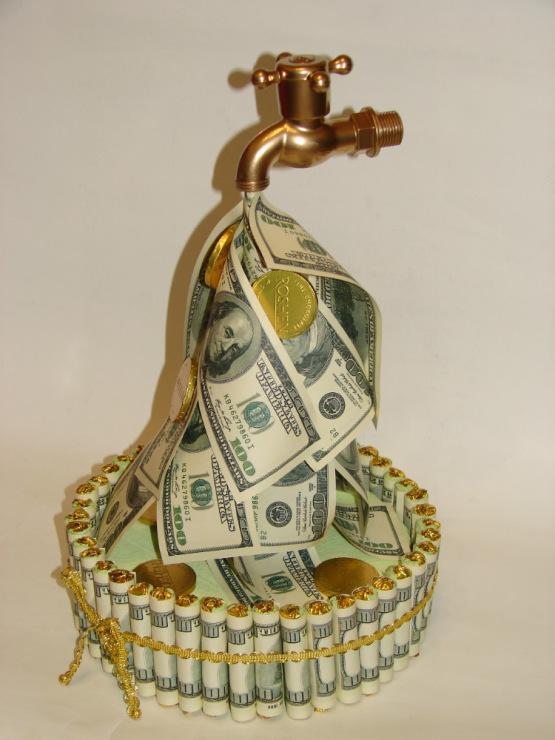 Оригинальные подарки деньгами для мужчин