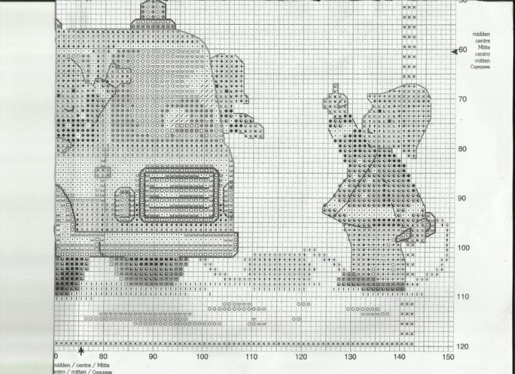 Схема вышивки пожарники