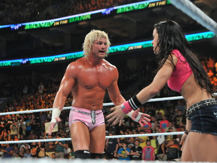 """who is aj dating in wwe John cena and aj lee kissed on monday night's episode of wwe raw, exciting their twitter fans as managing supervisor vickie guerrero was saying she was ready to reveal more """"evidence."""