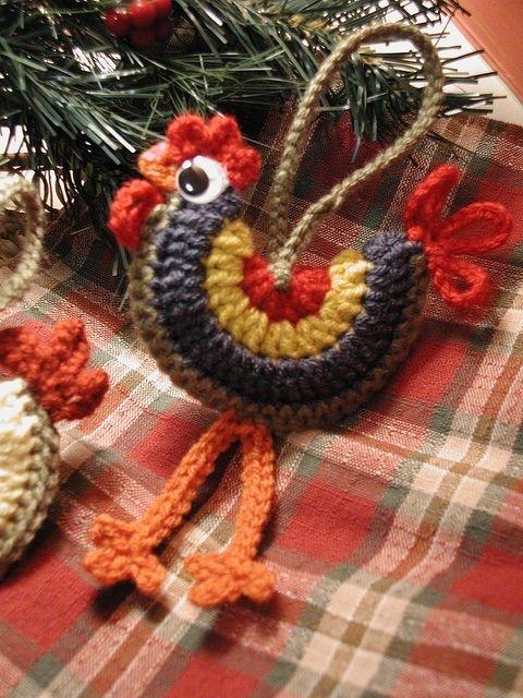 Вязание крючком символа нового года