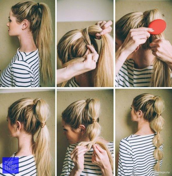 Причёски на каждый день поэтапно