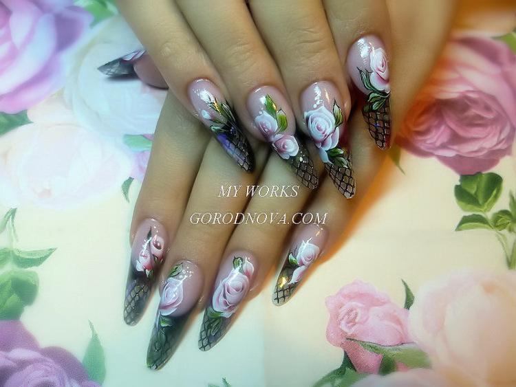 эксклюзивные дизайны ногтей фото