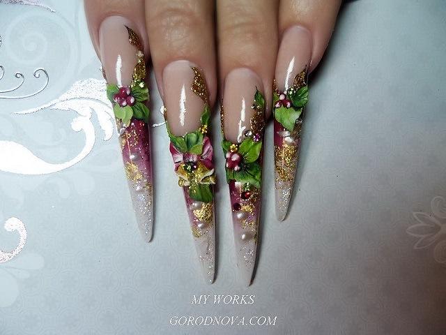 Дизайн ногтей авторские