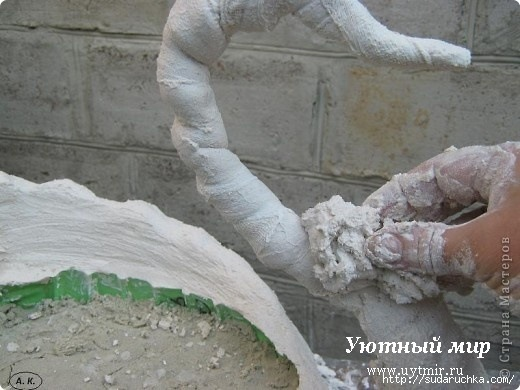 Скульптура из цемента мастер класс