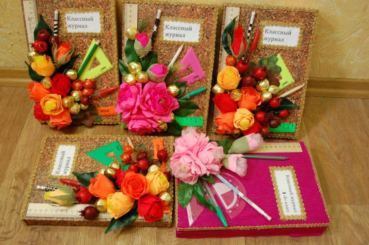 Подарки для учителей своими руками из конфет 415
