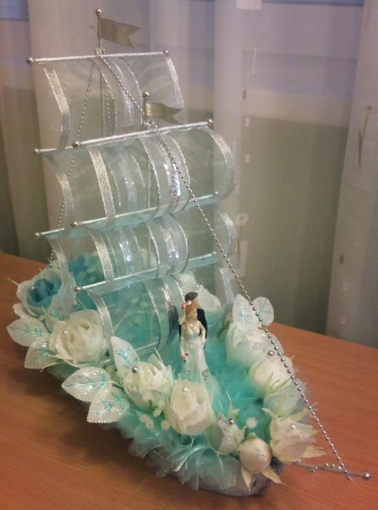 Корабль на свадьбу своими руками мастер 26