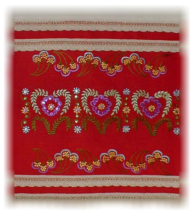 Вышивка татарским орнаментом a 337