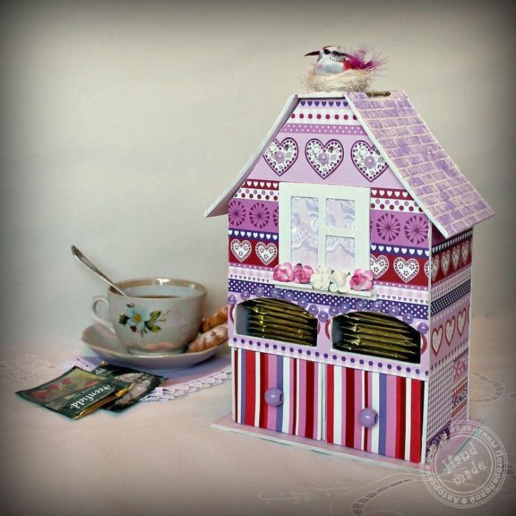 Как сделать чайный домик для чайных пакетиков 428