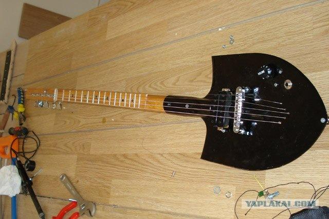 Как сделать самодельный гитару