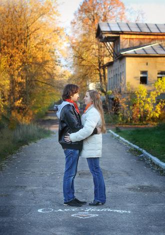 Фотограф Love Story Анна Ярунова - Ярославль